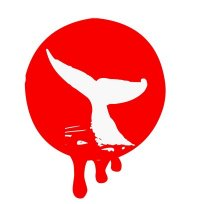 whaling protest logo
